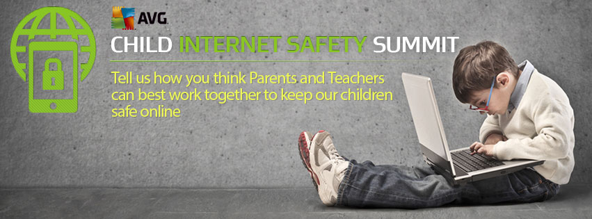 AVG Technologies Facebook Cover Image Child Internet Safety Summit