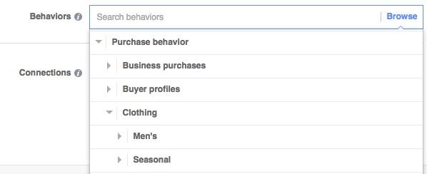 Facebook Ads Behaviors