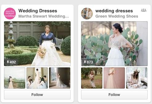 Pinterest Wedding Pin Boards
